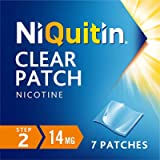 NiQuitin Clear Patch - Step 2 14 mg, 7 Patches - Stop Smoking Aid