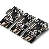 Kuman 3pcs nRF24L01+ 2.4GHz Antenna Wireless Transceiver RF Transceiver Module Arduino Compatible K19...