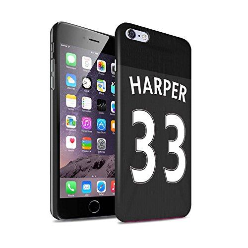 Offiziell Sunderland AFC Hülle / Glanz Snap-On Case für Apple iPhone 6+/Plus 5.5 / Torwart Muster / SAFC Trikot Away 15/16 Kollektion Harper