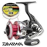 Daiwa - Ninja 3012A 4BB + Gratis Profiline Angelschnur