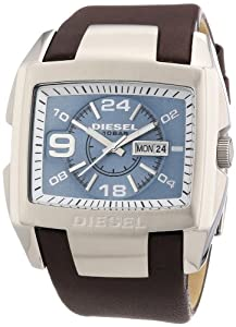 Reloj Diesel DZ4246 de cuarzo para hombre con correa de piel, color marrón de Diesel