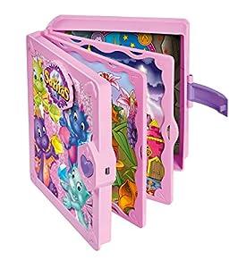 Simba 105951003-safiras Purpurina alas mágico Libro, 28cm