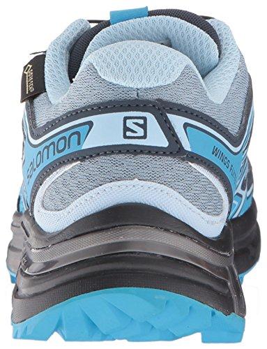 Salomon Wings Flyte 2 Gore-tex Femmes Scarpe Da Trail Corsa - Ss17 Bleu