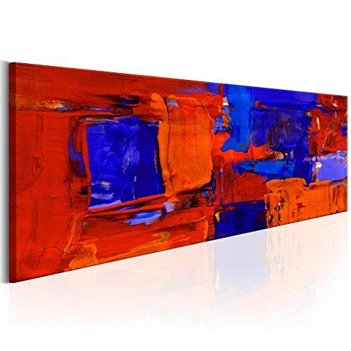 decomonkey Bilder Abstrakt 150x50 cm XXL 1 Teilig Leinwandbilder Bild auf Leinwand Wandbild Kunstdruck Wanddeko Wand Wohnzimmer Wanddekoration Deko Kunst