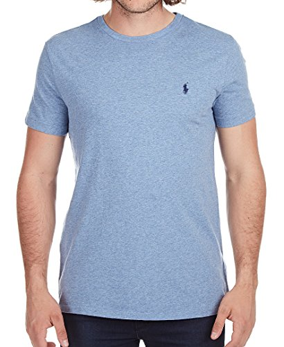 Ralph Lauren Classic-Fit T-Shirt - Ocean Heather - - Ralph Classic-fit Lauren Shirt,