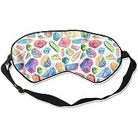 Jewel Bling Colorful Natural Silk Sleep Mask Comfortable Smooth Blindfold for Travel, Relax preisvergleich bei billige-tabletten.eu