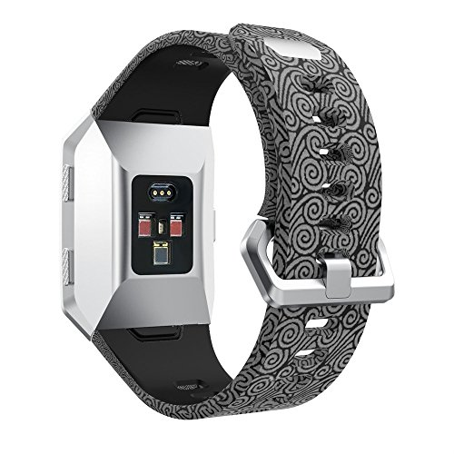 SYY ❤️ Fitbit Ionic ❤️ Universal Armbänder Strap Band, Sport-Silikon Antikollision Kratzfest Wasserdicht Uhrenband für Fitbit Ionic (Colour 7)