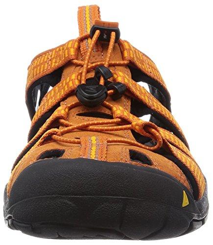 Keen Clearwater CNX M, Sandali da Escursionismo Uomo Arancione (Sunset/Marigold)
