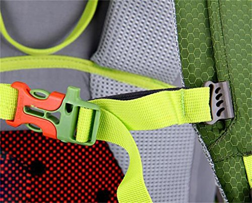 zaino trekking spalle 70L60L50L alpinismo borse uomini esterni professionali e le donne viaggiano borsa da viaggio zaino Zaini da escursionismo ( Colore : Nero , dimensioni : 65+5L ) Rust Red