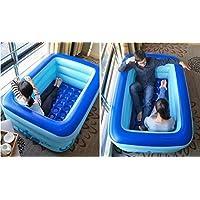 FACAI888 Baño Inflable Doble / Bañera Espesa / Bañera Doble / Piscina Infantil - Bañera - Bañera Inflable