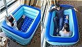 FACAI888 Baño Inflable Doble / Bañera Espesa / Bañera Doble / Piscina...
