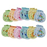 #9: MY BABY MULTI-COLOR MITTENS (PACK OF 12 PAIRS) (Design & Color May Vary)