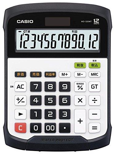 Galleria fotografica CASIO WD-320MT calcolatrice da tavolo Water & Dust proof - Display a 12 cifre, tastiera rimovibile