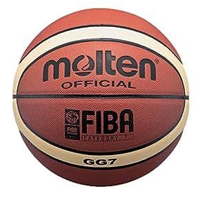 Molten Basketball BGG7, ORANGE/CREME, 7