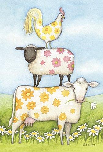 toland-home-garden-daisy-vaca-y-amigos-bandera-de-jardin