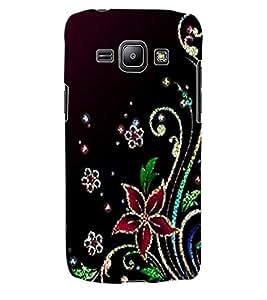 ColourCraft Floral Design Back Case Cover for SAMSUNG GALAXY J1
