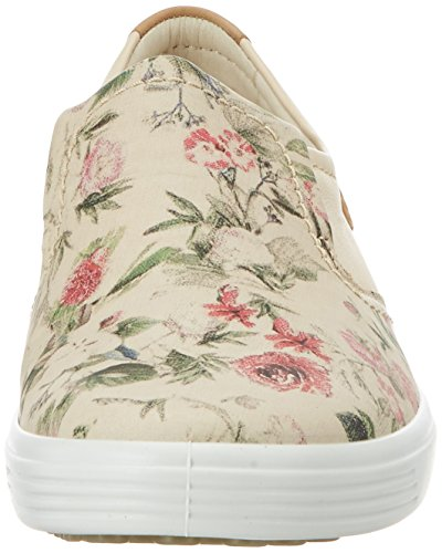 Ecco Ecco Soft 7 Ladies, Sneakers basses femme Mehrfarbig (50471MULTICOLOR/LIMESTONE/POWDER)