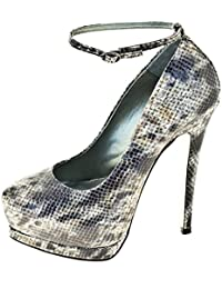 1TO3 - Chaussure avec plate-forme strass