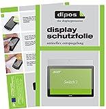 dipos I 2X Schutzfolie matt passend für Acer Switch 3 SW312-31 Folie Bildschirmschutzfolie