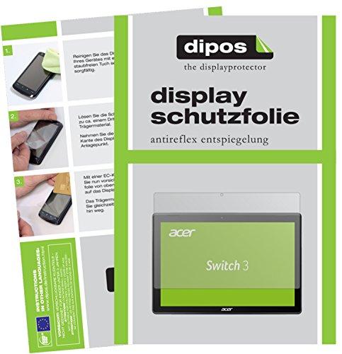 Acer Switch 3 SW312-31 Schutzfolie - 2x dipos Displayschutzfolie Folie matt