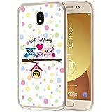 deinPhone Samsung Galaxy J5 (2017) Silikon Case Eulen Happy Family