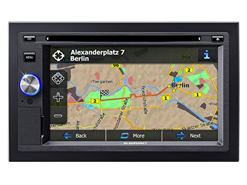 BLAUPUNKT SAN DIEGO 530 2DIN NAVIGATION SYSTEM WITH DVD PLAYER
