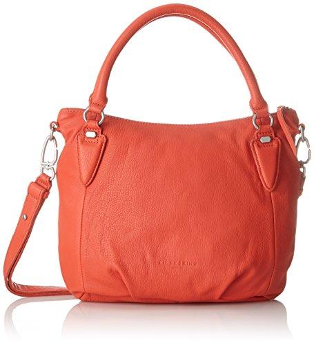 961672e707 Liebeskind Berlin - Ginaf8 Vintag, Mujer Shoppers y bolsos de hombro, Rojo  (Hibiscus