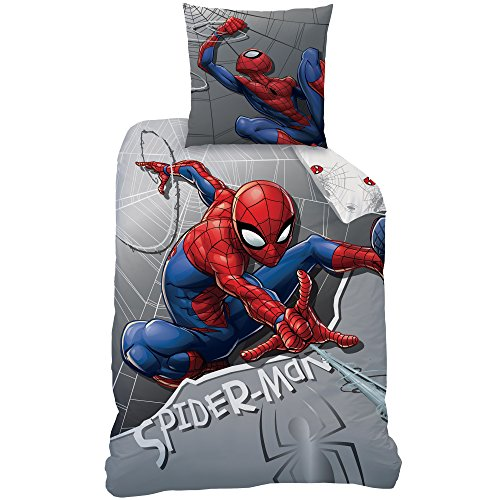 Spiderman 045323Super Hero Juego de Cama