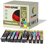 10 XL TONER EXPERTE® Druckerpatronen kompatibel für Epson 33XL Expression Premium XP-530, XP-630, XP-635, XP-640, XP-830, XP-900, XP-540, XP-645, T3351, T3361, T3362, T3363, T3364
