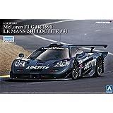 1/24 Super Series coche No.15 McLaren F1 GTR 1998 Le Mans 24 horas Loctite # 41