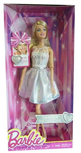 Barbie Special Edition Birthstone CDK18 - mit Geburtstagsstein Opal für den Monat Oktober -