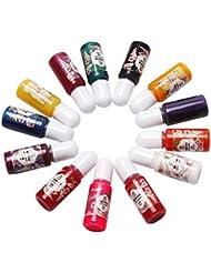 13 Bunte Kit Epoxy UV Harz Flüssige Farbstoff Pigment Pigment Mix Farbe für DIY Hobbiers