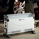 Heizgerät mit Frostwächter 12Std Timer 2000W Konvektor Heizer Radiator Heater Elektrische Heizung Elektroheizung - 10