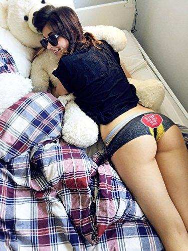 Damen Panties Hipster Unterhosen Shorts Fullprint One Size ROAD SIGNS