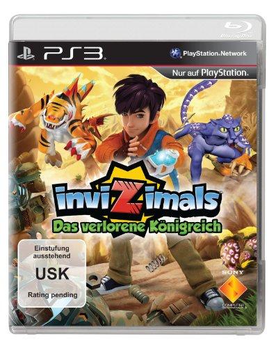 Invizimals - Das verlorene Königreich - [PlayStation 3] (Kinder-spiele Für Ps3)