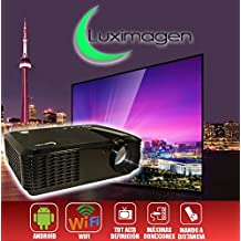 proyector barato Luximagen HD700 con WIFI, Android, TDT, USB, HDMI, AC3, 2 años de garantía