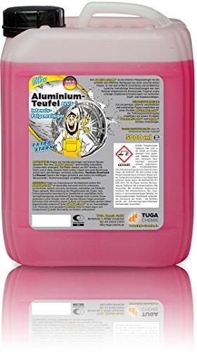 Preisvergleich Produktbild TUGA Aluminium Teufel Felgenreiniger Intensiv, 5 Kg Kanne