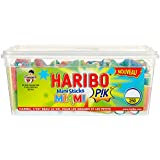 Haribo Bonbon Gélifié Mini Sticks Miami Pik x 250 Pièces 1,1 kg