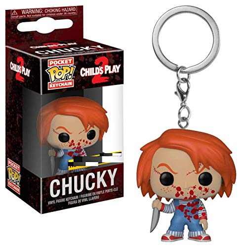 Funko - Porte Clé Chucky - Chucky Bloody Pocket Pop 4cm - 0889698353212