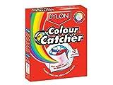 Dylon Boîte de 12 lingettes anti-décoloration Colour Catcher