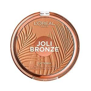 L'Oréal Paris Joli Bronze Terra Make Up Abbronzante Viso in Polvere, Texture Leggera, 02 Capri Naturale