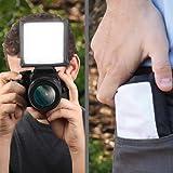 Soft Box DSLR Blitz Diffusor. Zwei Öffnungen für Pop Up Blitze, Speedlight. Canon EOS 750D 700D 80D 70D 100D / Nikon D5300 D3300 D7200 / Sony SLT-A58K - 5