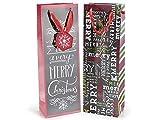 Ideapiu Flaschentasche Weihnachtskugeln in Papier-Tafel, der Preis ist für 20Stück