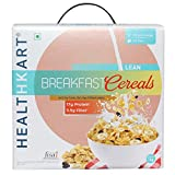 #8: HealthKart Breakfast Cereal, with 20%Protein, Oats, Soy flakes & Black Raisins