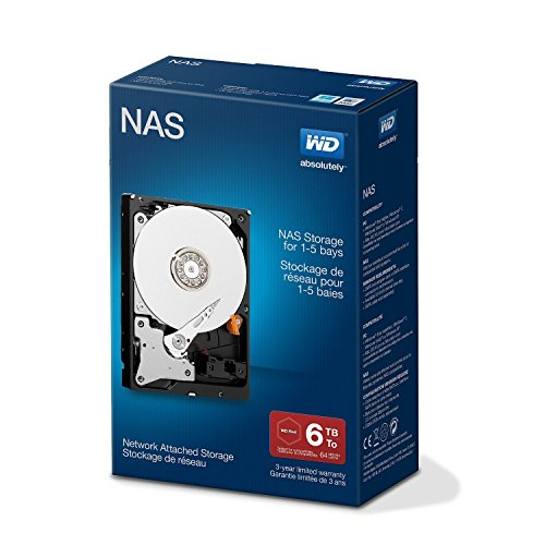 Western Digital Red 6TB  NAS Desktop interne Festplatte