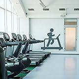 azutura Fitnessstudio Wandtattoo Laufband Wandtattoo Kunst Sport und Fitness Wohnkultur verfügbar...