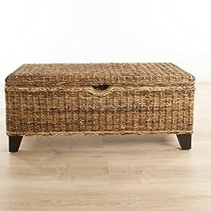 schlafzimmerbank sitzbank truhe bettbank bank mit deckel bananenblatt k che haushalt. Black Bedroom Furniture Sets. Home Design Ideas