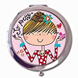Rachel Ellen Boxed compatto Mirror – 'So Pretty' Girl