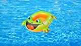 Cute Inflatables Barco Rana Verde Hinchable para Niños | ¡Gran Accesorio Divertido para la...
