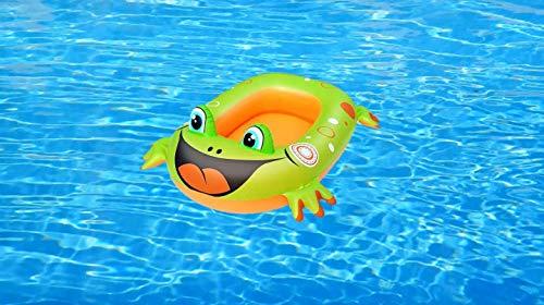 Schönes Kinder Schlauchboot Boot Kinderboot Gummiboot Motiv Frosch Aufblasbar   Großer Spaß-zusatz Für Den Swimmingpool, Den Strand!